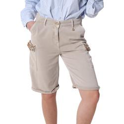 Vêtements Femme Shorts / Bermudas Fracomina FR20SP116 Beige