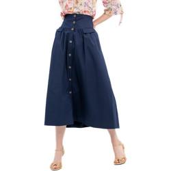 Vêtements Femme Jupes Fracomina FR20SP133 Bleu