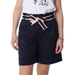 Vêtements Femme Shorts / Bermudas Fracomina FR20SP606 Bleu