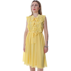 Vêtements Femme Robes courtes Fracomina FR20SP536 Jaune