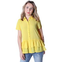 Vêtements Femme Chemises / Chemisiers Fracomina FR20SP039 Jaune