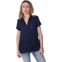 Vêtements Femme Chemises / Chemisiers Fracomina FR20SP039 Bleu