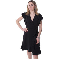 Vêtements Femme Robes courtes Fracomina FR20SP051 Noir