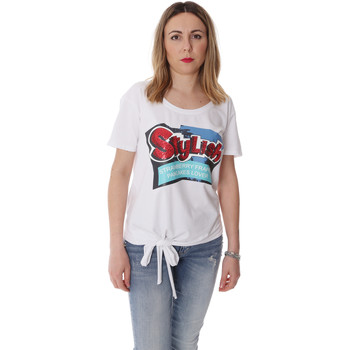 Vêtements Femme T-shirts manches courtes Fracomina FR20SP303 Blanc