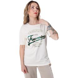 Vêtements Femme T-shirts manches courtes Fracomina FR20SP305 Blanc