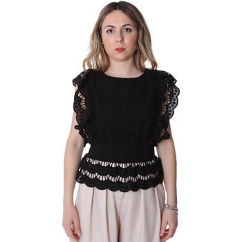 Vêtements Femme Tops / Blouses Fracomina FR20SP586 Noir