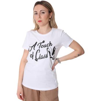 Vêtements Femme T-shirts manches courtes Fracomina FR20SP306 Blanc