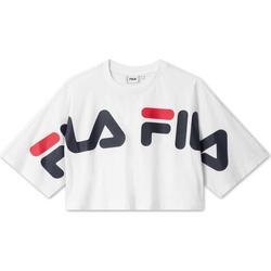 Vêtements Femme T-shirts manches courtes Fila 687497 Blanc