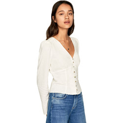 Vêtements Femme Chemises / Chemisiers Pepe jeans PL303664 Beige
