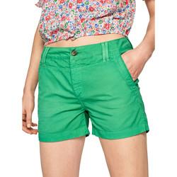 Vêtements Femme Shorts / Bermudas Pepe jeans PL800695 Vert