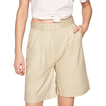 Vêtements Femme Shorts / Bermudas Pepe jeans PL800886 Beige