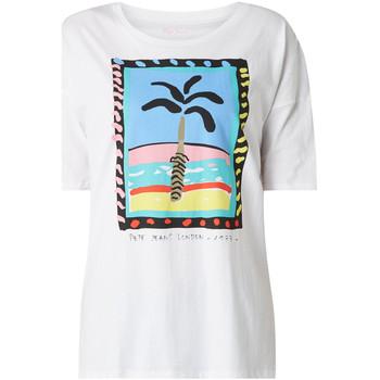 Vêtements Femme T-shirts manches courtes Pepe jeans PL504466 Blanc