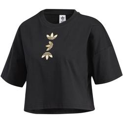 Vêtements Femme T-shirts manches courtes adidas Originals FS7232 Noir