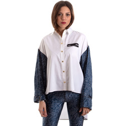 Vêtements Femme Chemises / Chemisiers Versace B0HVB606S0683904 Blanc