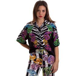Vêtements Femme Chemises / Chemisiers Versace B0HVB604S0793983 Noir