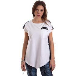 Vêtements Femme T-shirts manches courtes Versace D3HVB657S0683904 Blanc