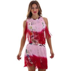 Vêtements Femme Robes courtes Versace D2HVB406S0777K67 Blanc