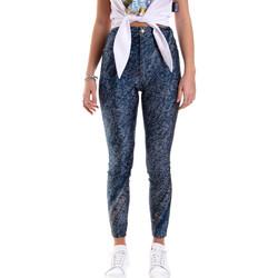 Vêtements Femme Leggings Versace A1HVB009S0684904 Bleu