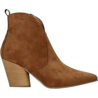 Chaussures Femme Bottines Grace Shoes 7241007 Marron