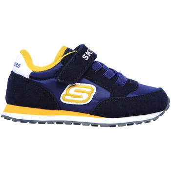 Chaussures Enfant Baskets basses Skechers 97366N Bleu