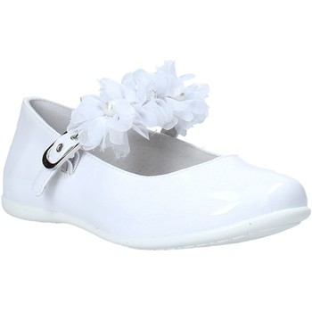 Chaussures Fille Ballerines / babies NeroGiardini E031400F Blanc