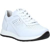 Chaussures Enfant Baskets basses NeroGiardini E033810M Blanc