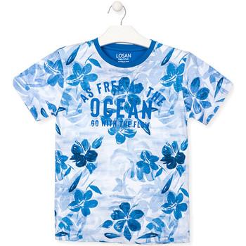 Vêtements Garçon T-shirts manches courtes Losan 013-1003AL Bleu