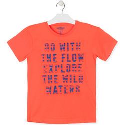 Vêtements Garçon T-shirts manches courtes Losan 013-1005AL Orange