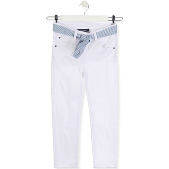 Vêtements Enfant Jeans slim Losan 014-9011AL Blanc