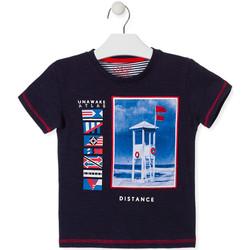 Vêtements Enfant T-shirts manches courtes Losan 015-1001AL Bleu