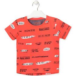 Vêtements Enfant T-shirts manches courtes Losan 015-1003AL Orange