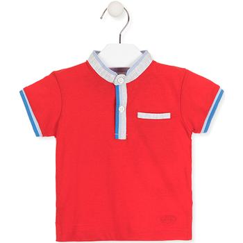 Vêtements Enfant Polos manches courtes Losan 017-1791AL Rouge
