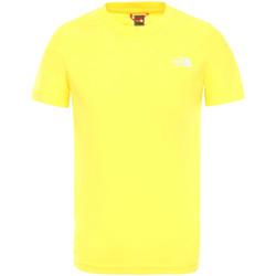 Vêtements Enfant T-shirts manches courtes The North Face NF0A2WANDW91 Jaune