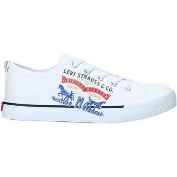 Chaussures Enfant Baskets basses Levi's VORI0008T Blanc