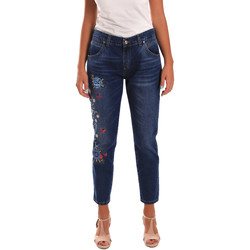 Vêtements Femme Jeans slim Y Not? 18PEY096 Bleu