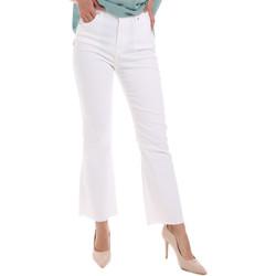 Vêtements Femme Jeans bootcut Gaudi 011BD25017 Blanc