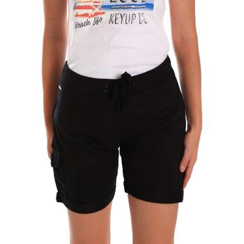 Vêtements Femme Shorts / Bermudas Key Up 5G75F 0001 Noir