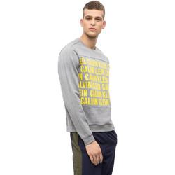 Vêtements Homme Sweats Calvin Klein Jeans 00GMF8W320 Gris