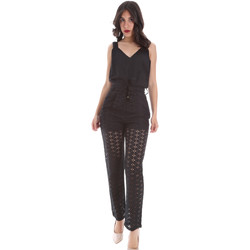 Vêtements Femme Combinaisons / Salopettes Gaudi 011FD25009 Noir