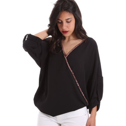 Vêtements Femme Tops / Blouses Gaudi 011BD45026 Noir