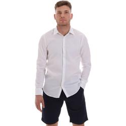 Vêtements Homme Chemises manches longues Sseinse CE506SS Blanc