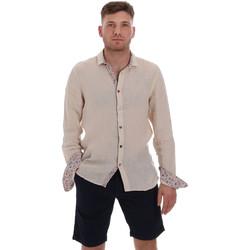 Vêtements Homme Chemises manches longues Sseinse CE538SS Beige