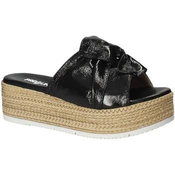 Chaussures Femme Mules Pregunta IL02402-CL Noir