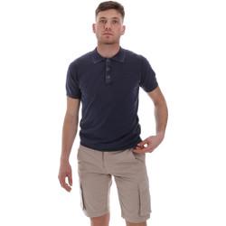 Vêtements Homme Polos manches courtes Sseinse ME1513SS Bleu
