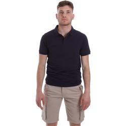 Vêtements Homme Polos manches courtes Sseinse ME1517SS Bleu
