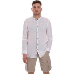 Vêtements Homme Chemises manches longues Sseinse CE537SS Blanc