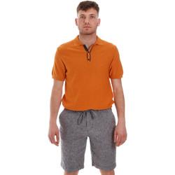 Vêtements Homme Polos manches courtes Sseinse ME1528SS Orange