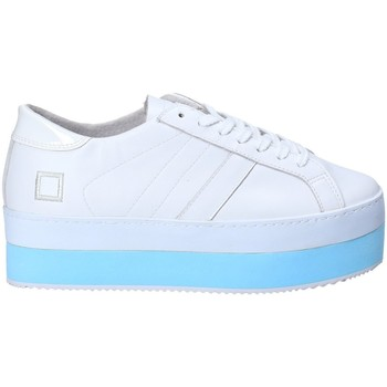 Chaussures Femme Baskets basses Date W281-MO-LE-WH Blanc
