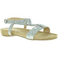 Chaussures Femme Sandales et Nu-pieds Mally 4681 Argent