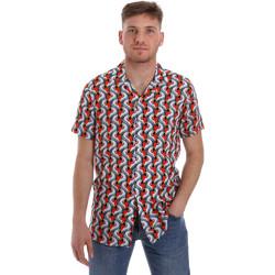 Vêtements Homme Chemises manches courtes Sseinse CE516SS Blanc